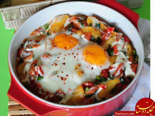 www.dustaan.com طرز تهیه املت حرفه ای و فوق العاده خوشمزه برای صبحانه