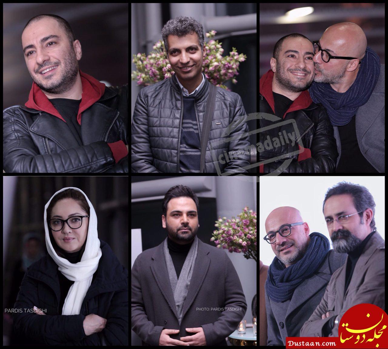 www.dustaan.com ستاره های سینما در اکران خصوصی «بدون تاریخ بدون امضا» +عکس