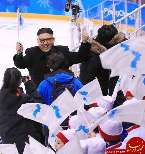 www.dustaan.com جنجال حضور بدل کیم جونگ اون در مسابقه هاکی زنان! +عکس
