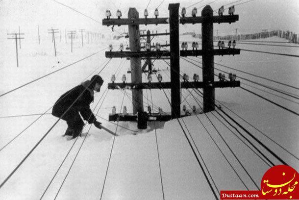 www.dustaan.com بارش چندمتری برف در روسیه! +عکس