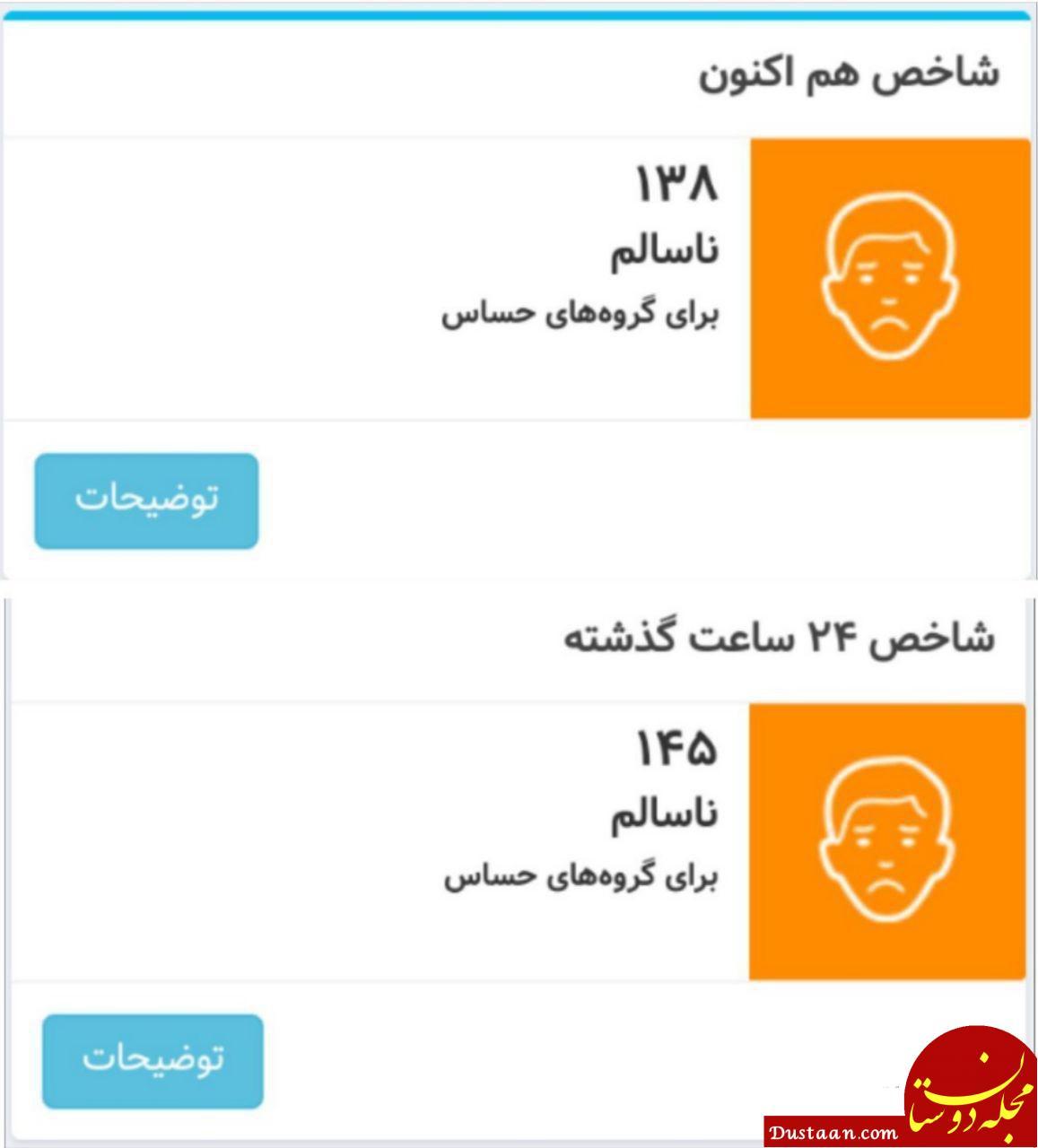 جمعه 13 بهمن / نقشه دمای مراکز استان ها