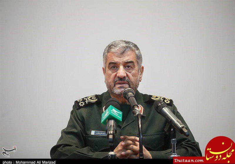 www.dustaan.com پیام فرمانده کل سپاه به ابراهیم حاتمی کیا