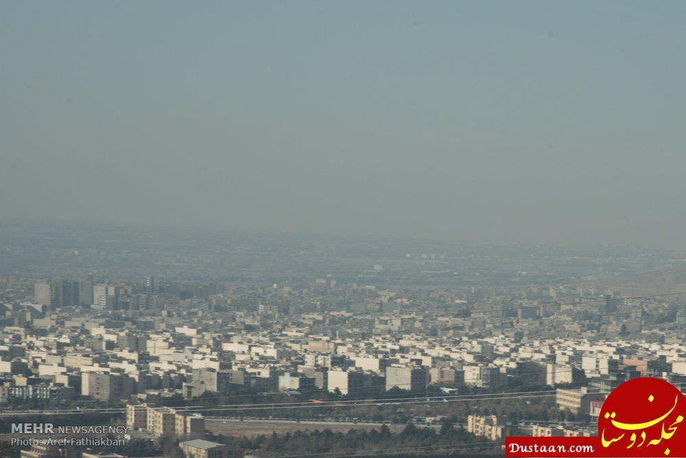 آلودگی هوای ساوجبلاغ و نظرآباد از مرز هشدار گذشت!