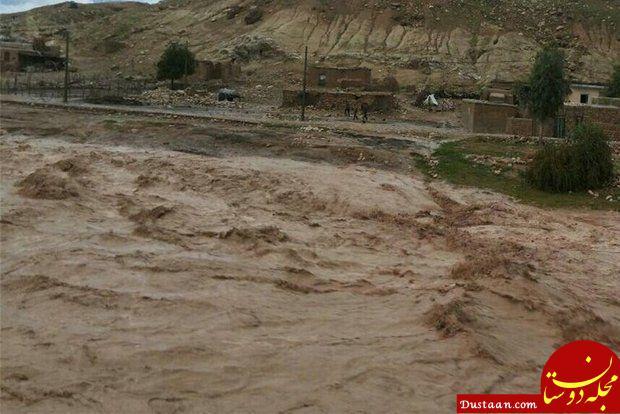 سقوط مرگبار پژو در رودخانه «کشکان» +عکس
