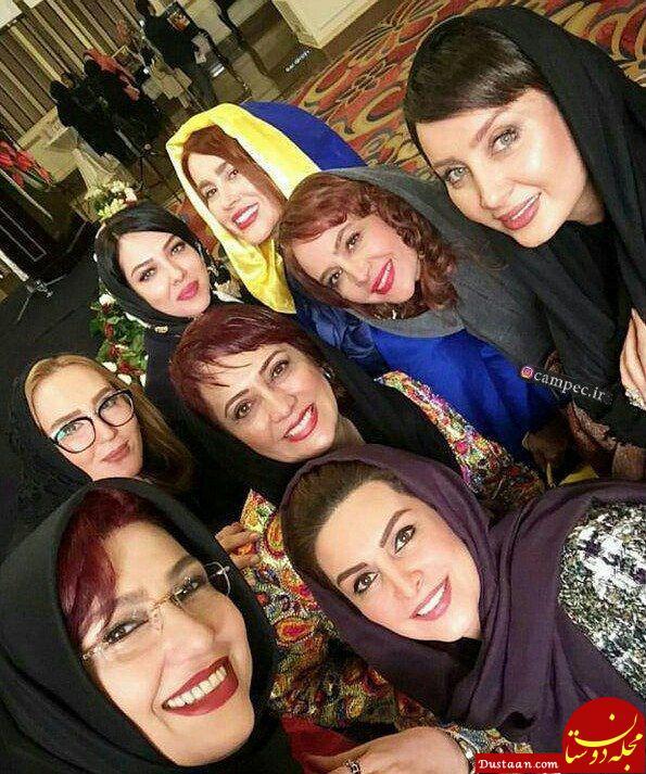 www.dustaan.com سلفی بازیگران زن در یک دورهمی! +عکس