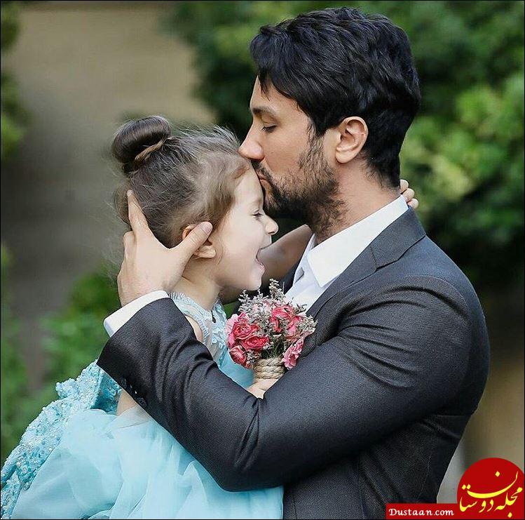 www.dustaan.com بیوگرافی و عکس های جدید شاهرخ استخری ،همسر و دخترش پناه و نبات