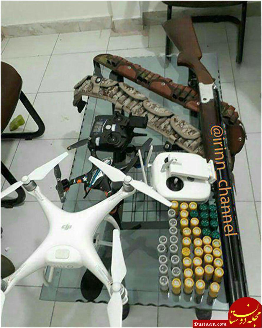 www.dustaan.com دستگیری شکارچیِ فوق پیشرفته در آرادان! +عکس