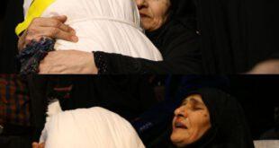 """مادر شهید """"عبدالرضا حیدری"""" پس از ۲۹ سال فرزندش را در آغوش گرفت +عکس"""