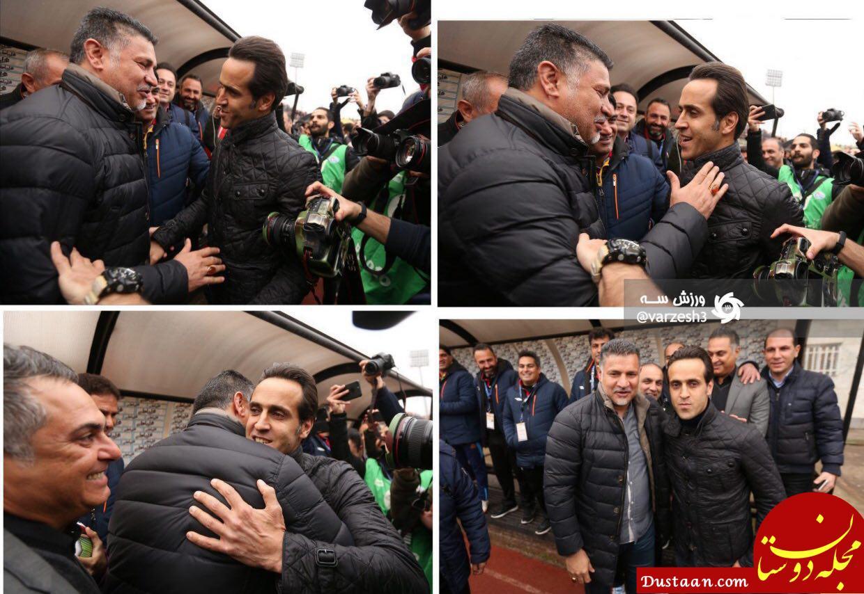 www.dustaan.com پایان کدورت های کریمی و دایی در شهر باران +تصاویر