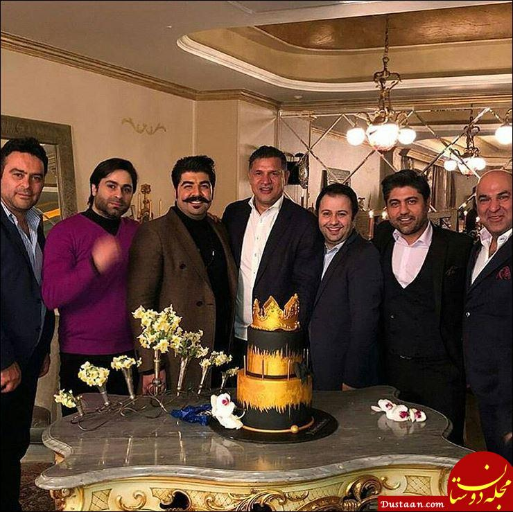 www.dustaan.com جشن تولد علی دایی با حضور بهنام بانی +عکس