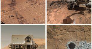 عکس های دیدنی مریخ نورد کنجکاوی از سطح مریخ