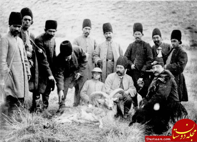 www.dustaan.com شکار ناصرالدین شاه و تملق اطرافیان! +عکس