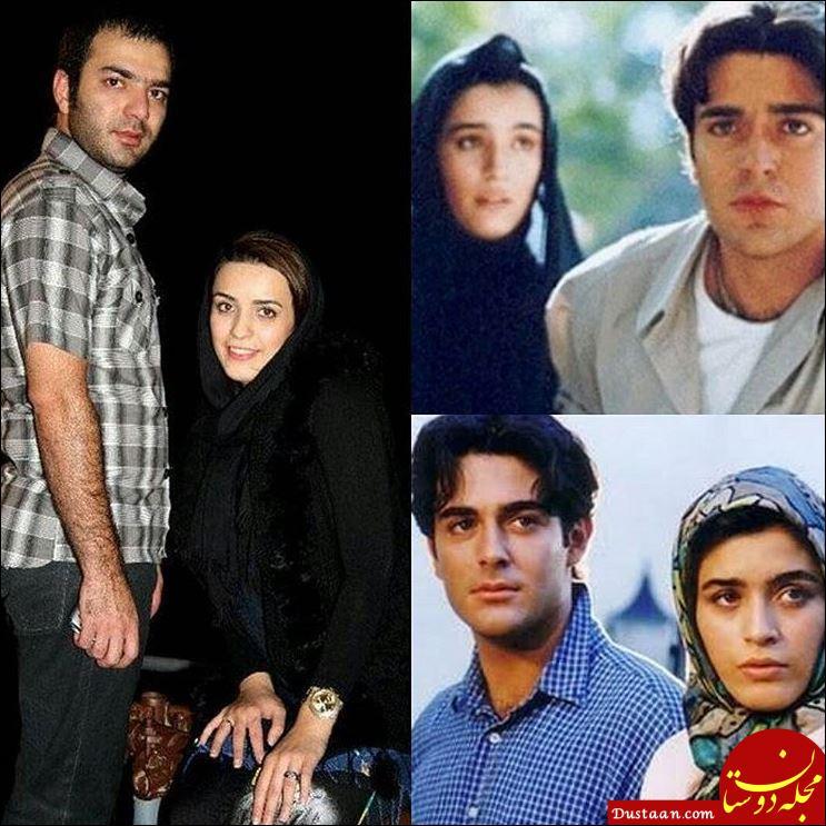 www.dustaan.com بیوگرافی و عکس های دیدنی امید آهنگر و همسرش نوشین حسین خانی