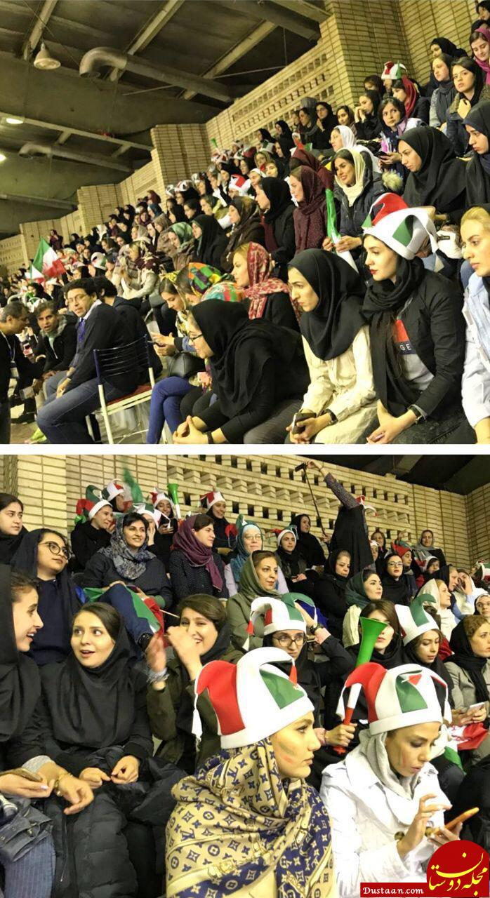 www.dustaan.com استقبال زنان از حضور در ورزشگاه +عکس
