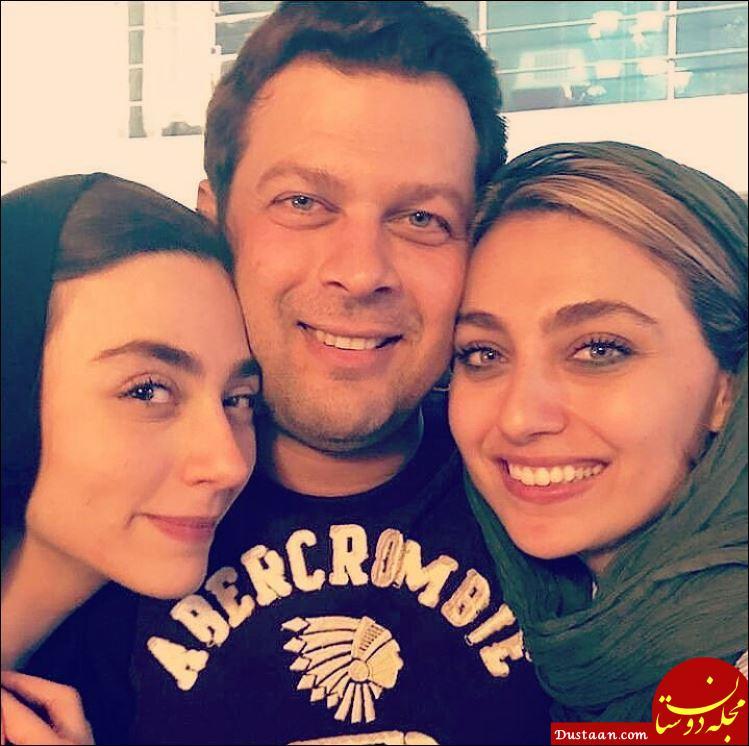 www.dustaan.com عکس های دیدنی پژمان بازغی ، همسرش مستانه مهاجر و دخترش نفس