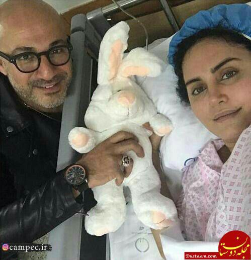 www.dustaan.com عیادت پیمان قاسم خانی و پژمان جمشیدی از الناز شاکردوست +تصاویر