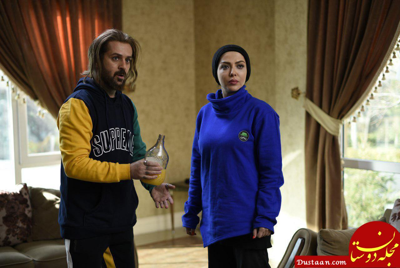 www.dustaan.com لیلا اوتادی و احمد مهران فر در نمایی از فیلم «کاتیوشا» +عکس