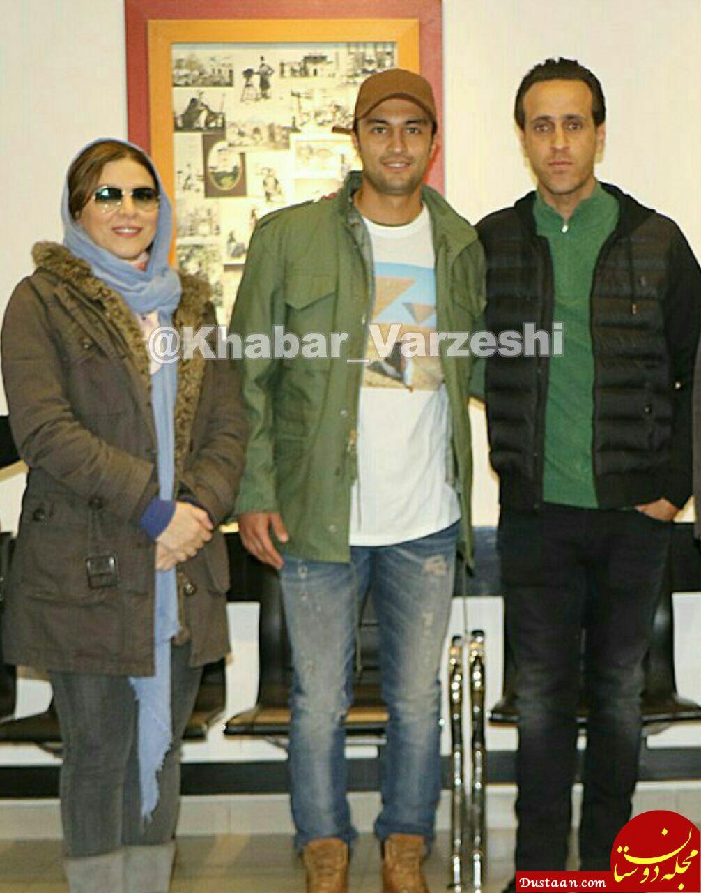 www.dustaan.com علی کریمی در کنار دو برنده سیمرغ بلورین جشنواره! +عکس