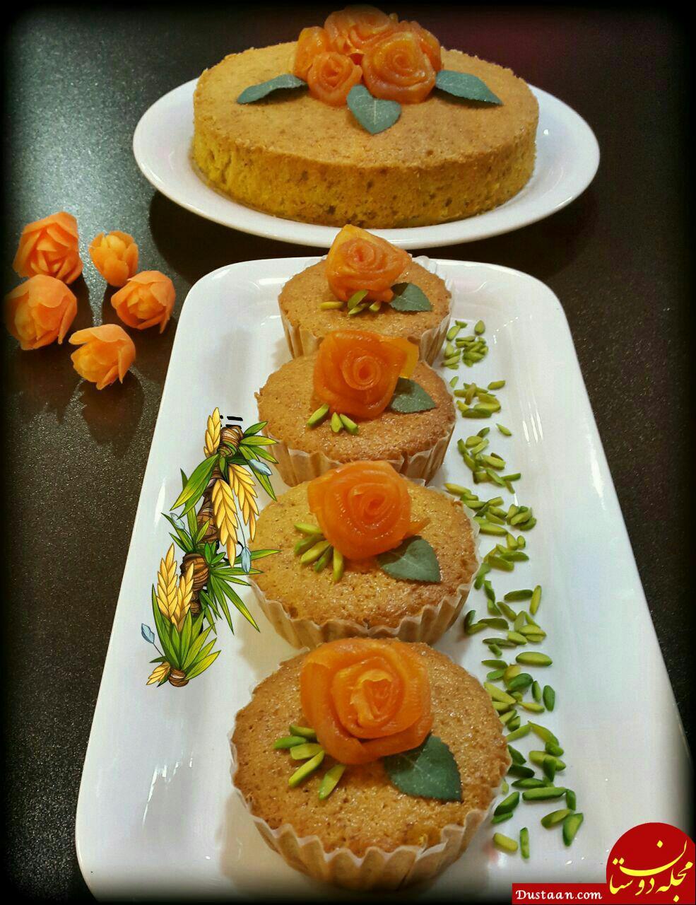طرز تهیه کیک هویج و گردو / کیکی متفاوت و خوشمزه!