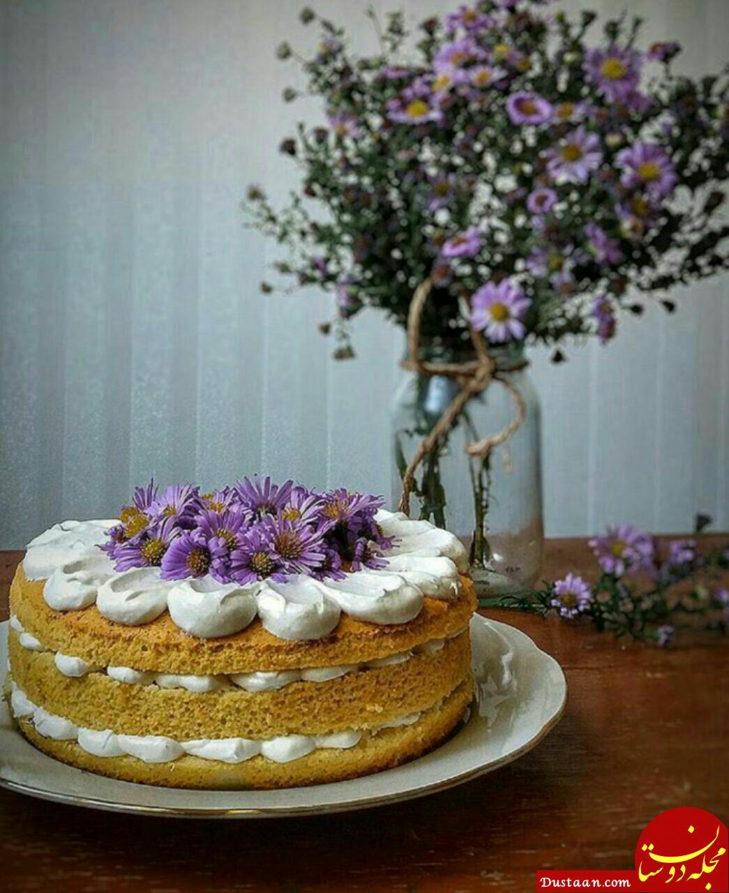 طرز تهیه کیک گردویی اسفنجی به سبکی خوشمزه