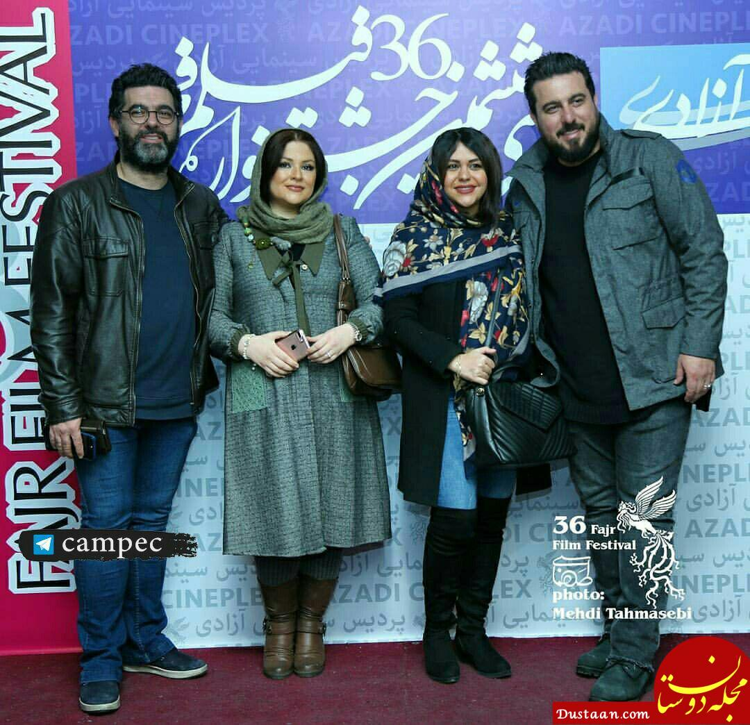 www.dustaan.com تیپ دیدنی برادران کیایی و همسرانشان در جشنواره فیلم فجر +عکس