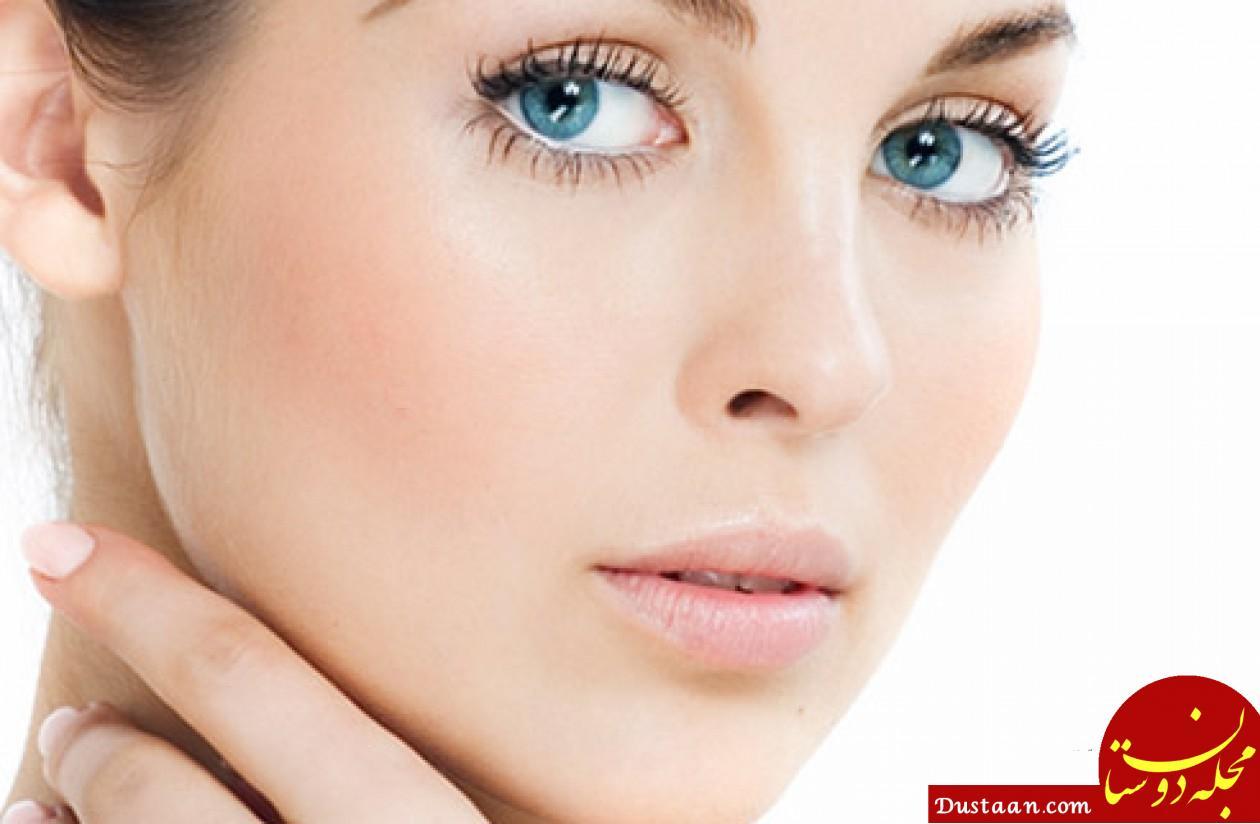 www.dustaan.com چند ترفند ساده برای آرایش بهتر صورت (سری 1)
