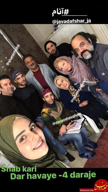 www.dustaan.com تصاویری جالب و دیدنی از بازیگران ایرانی در اینستاگرام «629»