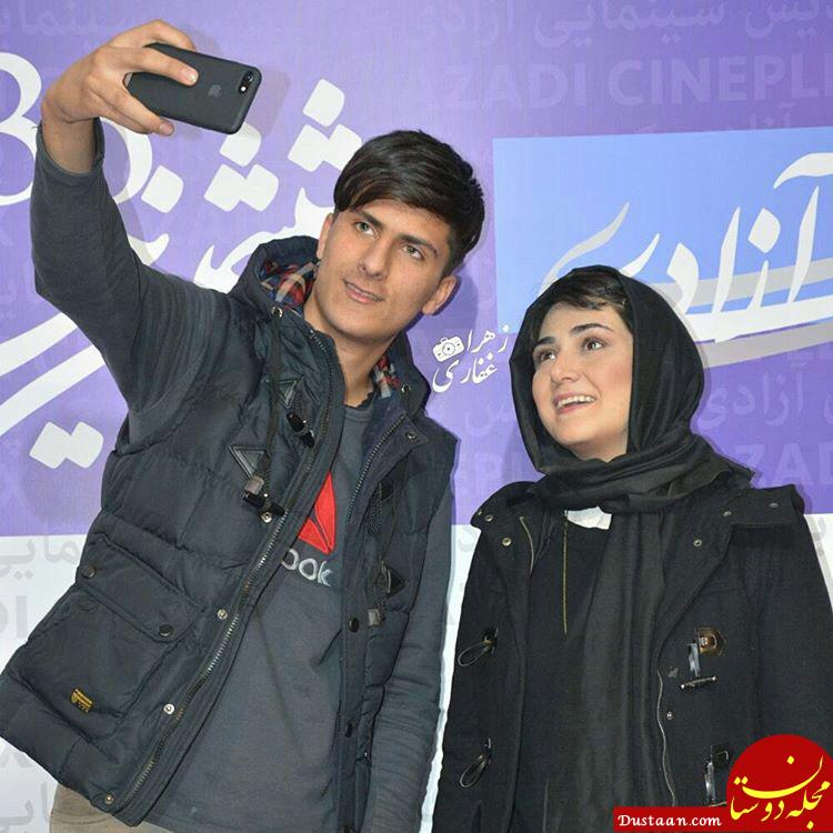 www.dustaan.com عکس های دیدنی بازیگران در روز دوم سی و ششمین جشنواره فیلم فجر
