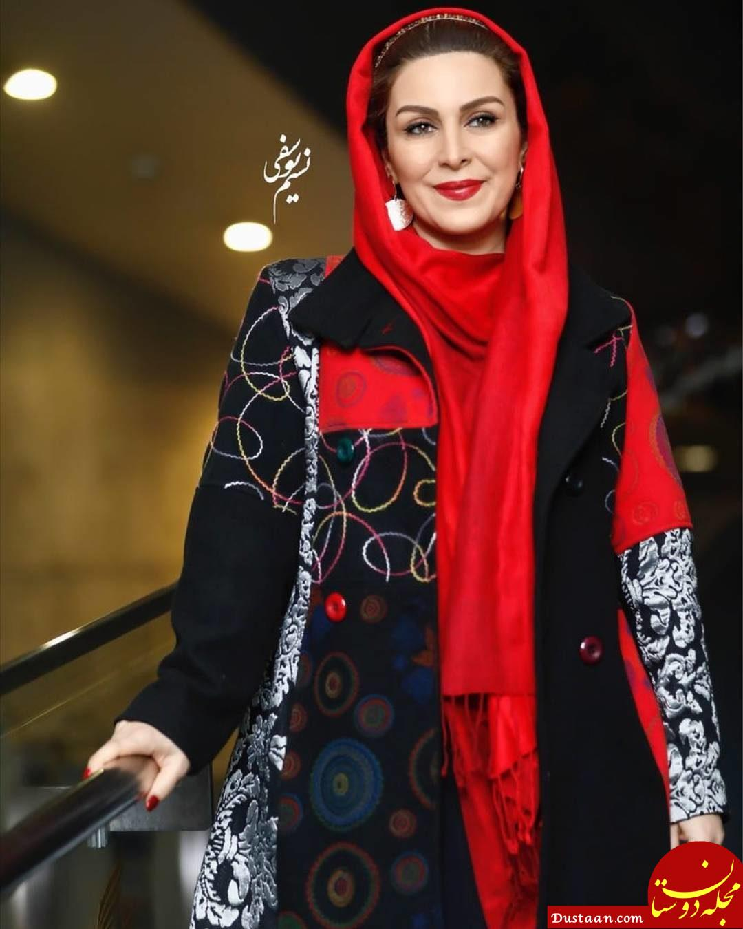 لباس متفاوت «ماه چهره خلیلی» در جشنواره فجر