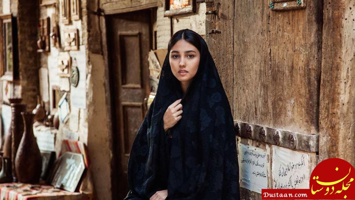 www.dustaan.com دختر شیرازی در میان لیست زیباترین دختران جهان +تصاویر