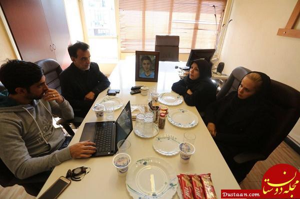 www.dustaan.com افشاگری پدر و مادر مرحوم احمدرضا شاکر در گفتگو با خبرورزشی
