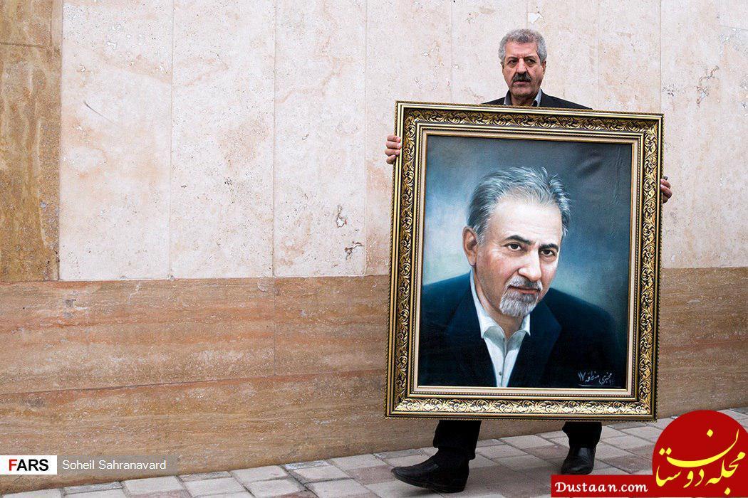 www.dustaan.com پاچه خواری شهردار تهران در روز روشن! +عکس