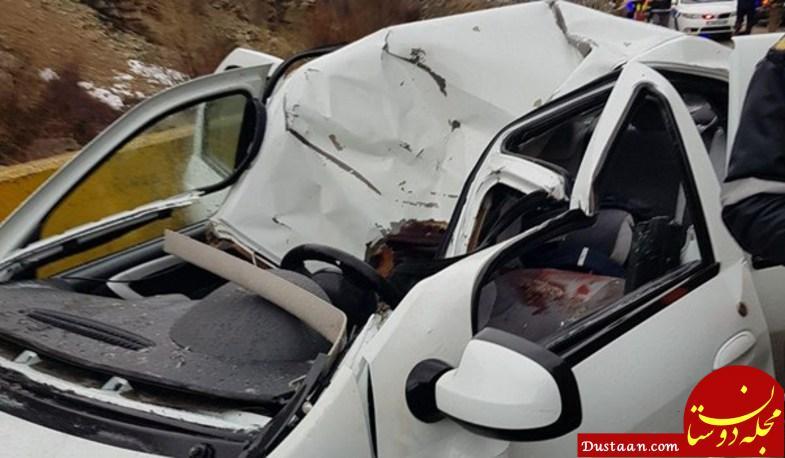 www.dustaan.com عکس: ریزش مرگبار کوه در فشم