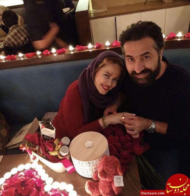 www.dustaan.com ولنتاین لاکچری «بهاره رهنما» و حاجی! +عکس