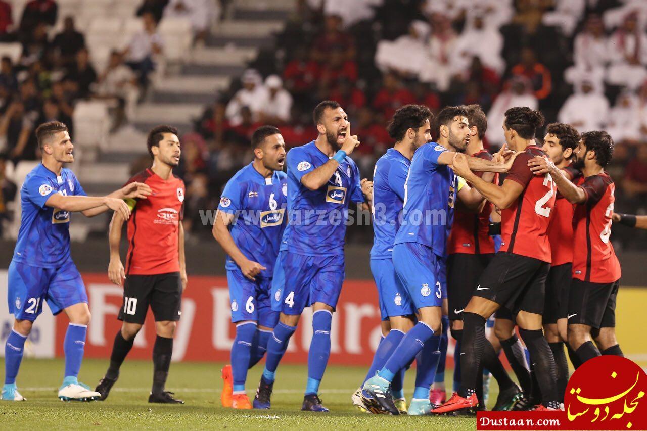 www.dustaan.com شکایت باشگاه استقلال از تاباتا بازیکن الریان