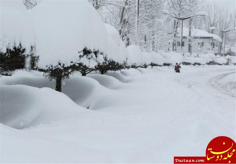www.dustaan.com ارتفاع برف در سرعین اردبیل به نیم متر رسید! +تصاویر