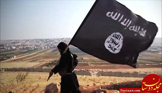 www.dustaan.com پرچم داعش در یک دبیرستان آمریکا برافراشته شد