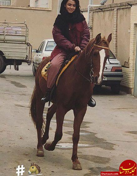 www.dustaan.com نیکی نصیریان بازیگر خردسال سریال طنز عطاران در ۱۳ سالگی! +عکس