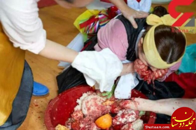 www.dustaan.com مراسم بسیار عجیب جن گیری در کره جنوبی! +تصاویر