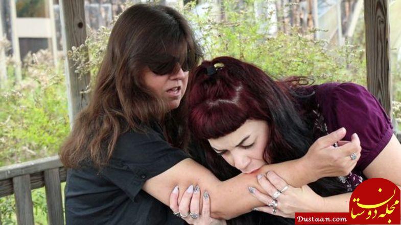 www.dustaan.com وقتی زن خون آشام آمریکایی سوژه رسانه ها می شود! +تصاویر