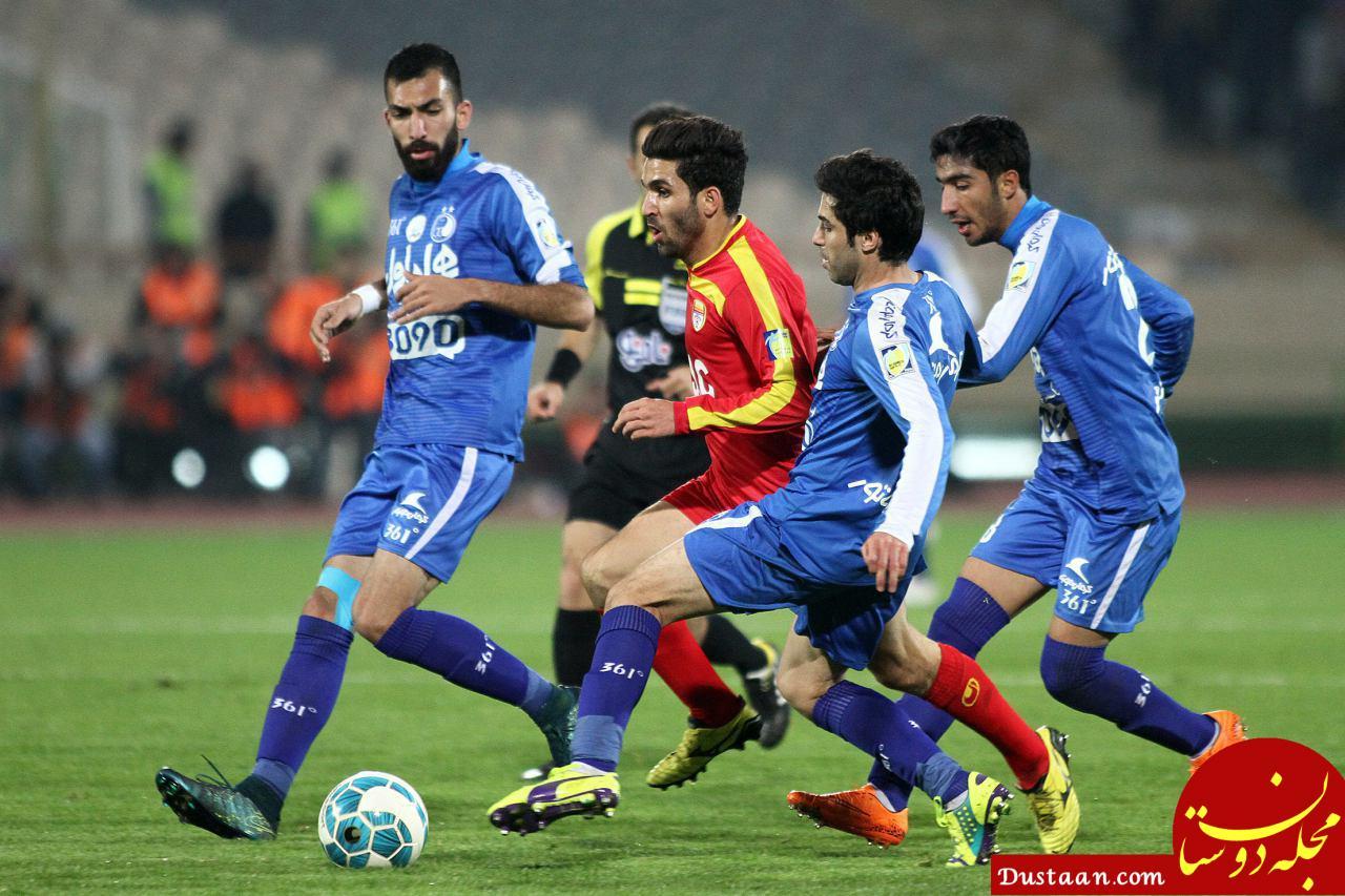 www.dustaan.com بارش باران و ابهام در برگزاری بازی فولاد   استقلال