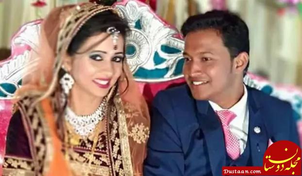 www.dustaan.com هدیه ای که به قیمت جان تازه عروس و داماد تمام شد! +تصاویر
