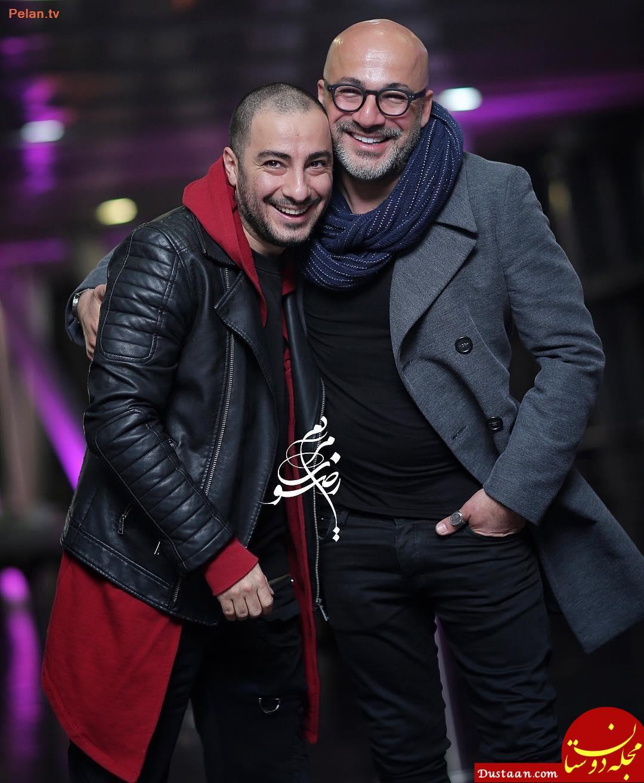www.dustaan.com باز هم لباس های عجیب «نوید محمدزاده» +عکس