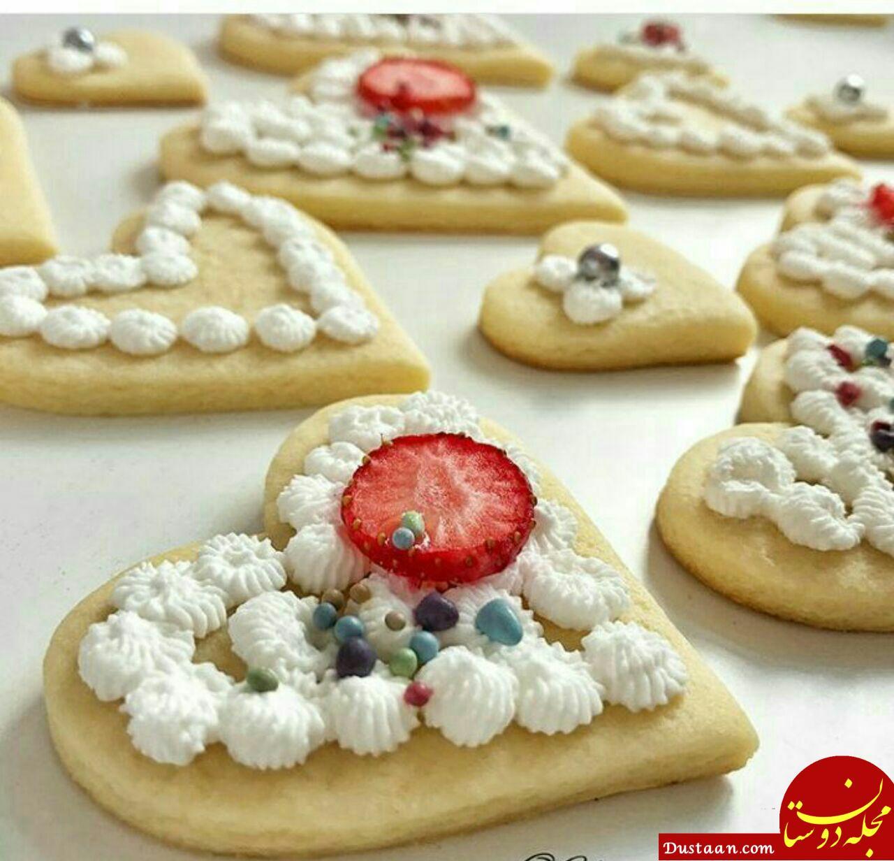 www.dustaan.com طرز تهیه بیسکوییت ساده به سبکی خوشمزه در خانه