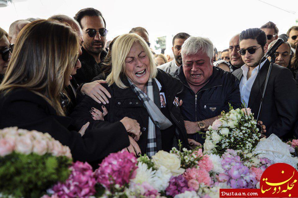 مراسم خاکسپاری جانباختگان حادثه سقوط هواپیمای ترکیه در ایران +عکس