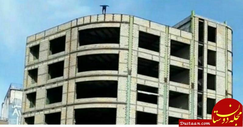 www.dustaan.com جزئیات خودکشی پسر جوان در میدان شریعتی اردبیل +فیلم و عکس