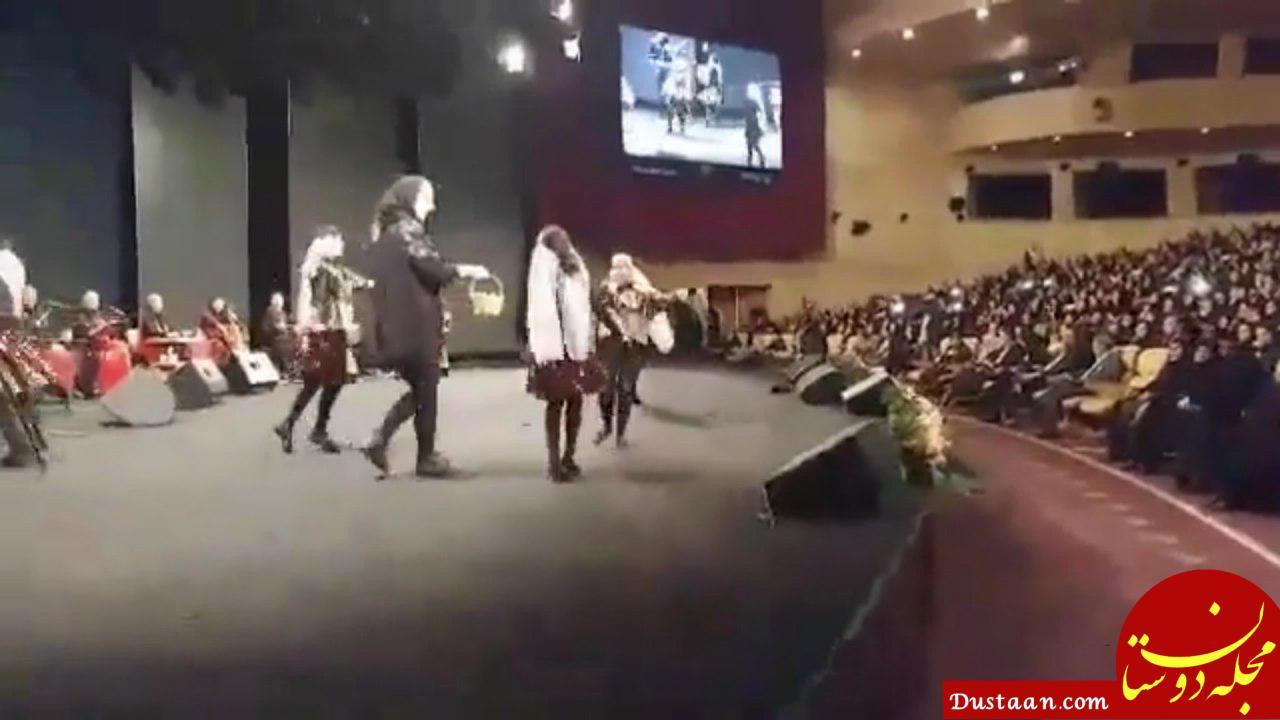 www.dustaan.com رقص دختران در مراسم شهرداری تهران! +عکس