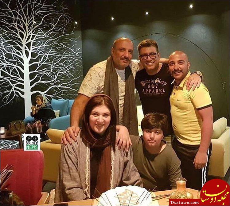 جشن تولد خانم بازیگر در کنار همسرش +تصاویر
