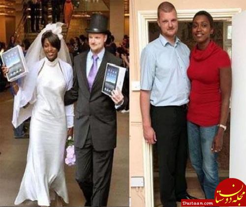 www.dustaan.com بلند قدترین زن و شوهر جهان را بشناسید! +عکس