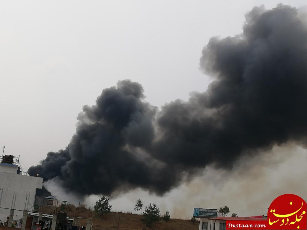 www.dustaan.com جزئیات سقوط هواپیمای بنگلادش با 67 مسافر +تصاویر